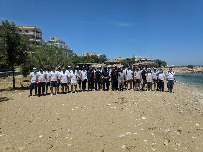 Καθαρισμός ακτών κεντρικού τομέα νήσου Χίου από σπουδαστές της ΑΕΝ Χίου στα πλαίσια της εορτής της Παγκόσμιας Ημέρας Περιβάλλοντος.